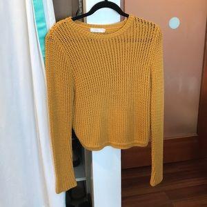 Beautifully stitched gold sweater Millau sweater